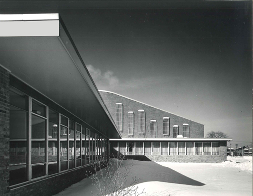 Westshore Unitarian Church, 1954  Rocky River, Ohio