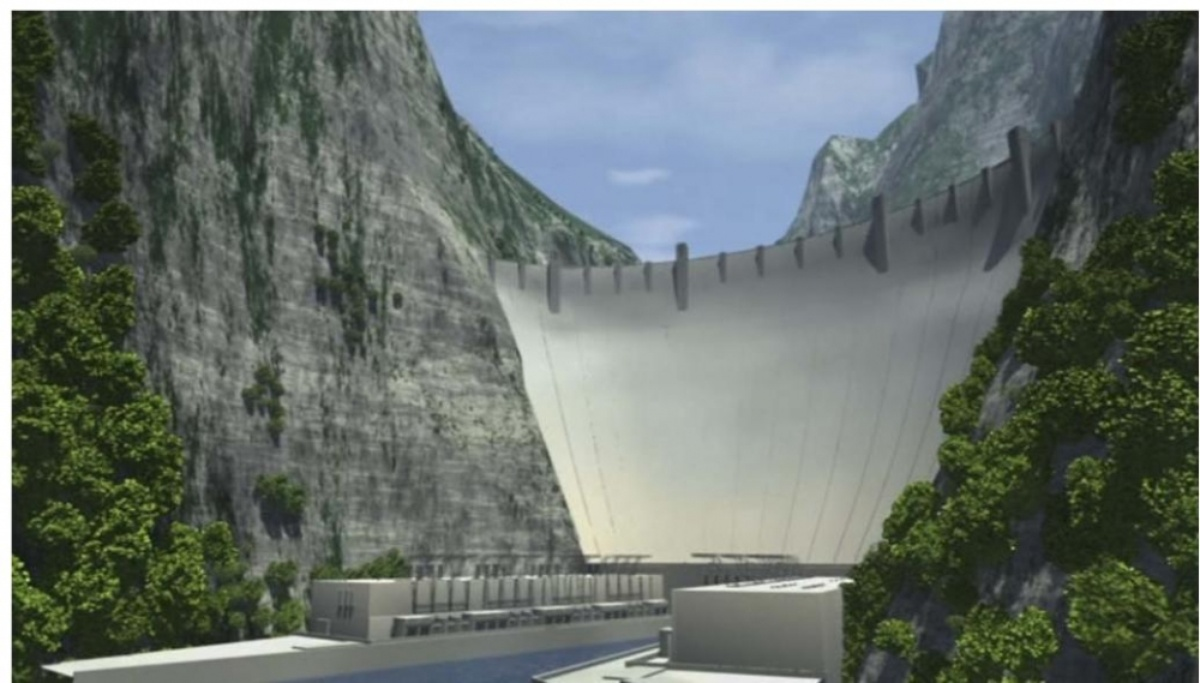 Planned Dams on Moraca river