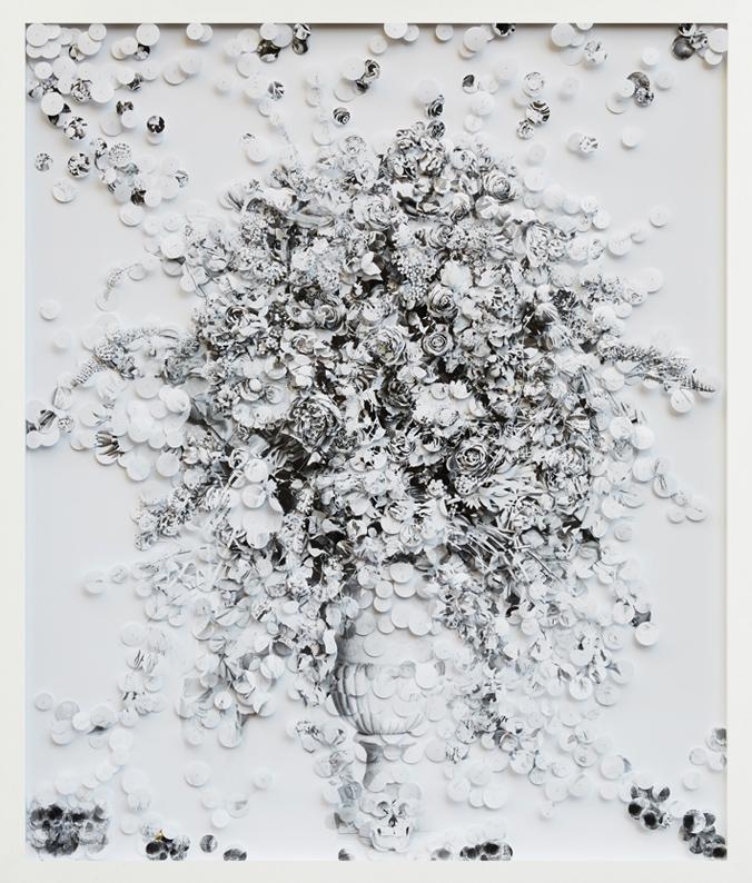 Bon'nô(Désirs terrestres)  2014  150 x 180 x 10,5cm