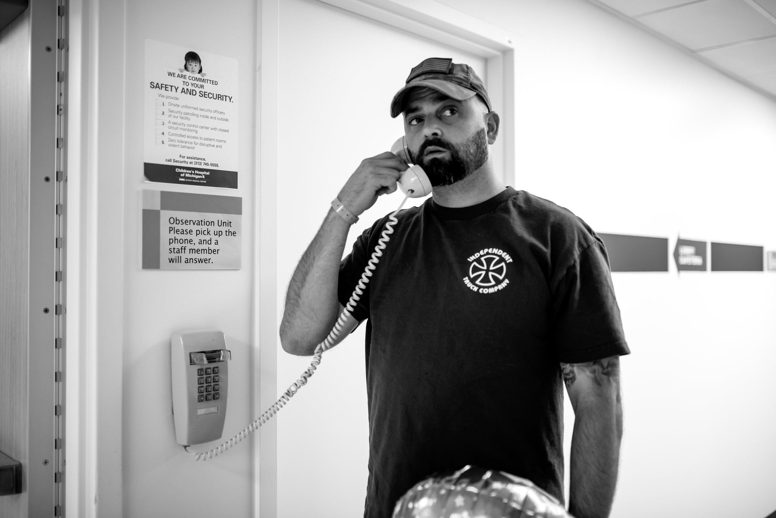 Dad calls to enter observation unit