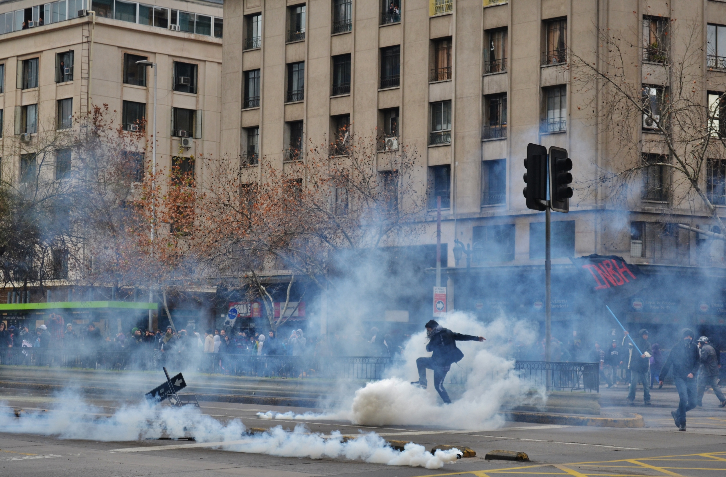 Chile student protests // The Santiago Times 2012
