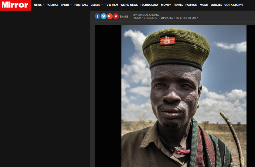 East Africa's Lost Tribe: The Karamojong // The Mirror 02.2017
