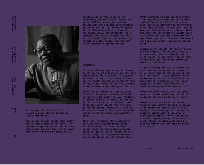 UGANDA'S LGBT: In depth with Onziema and victims // Flofferz Magazine January 2017