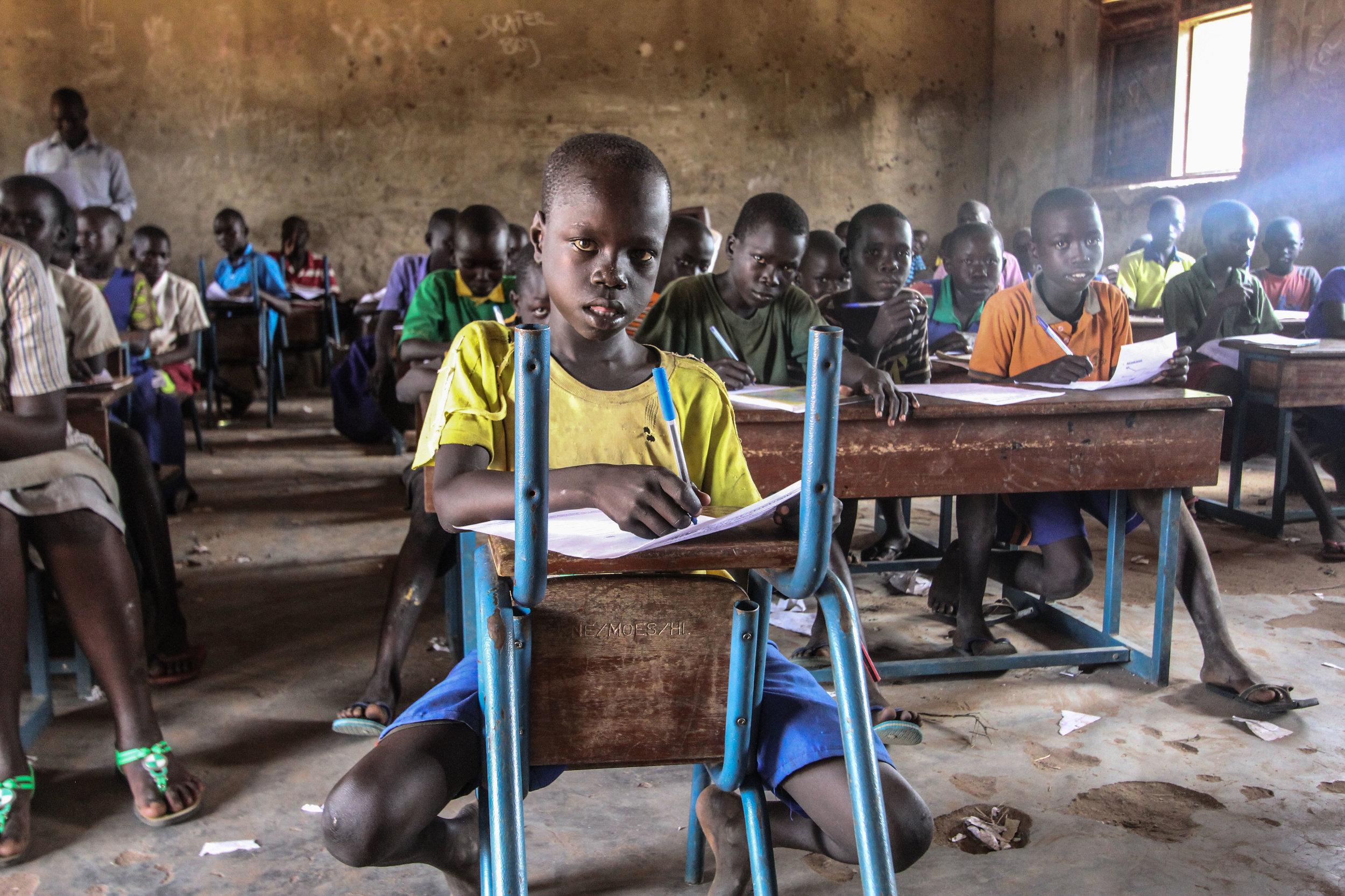 Warchild Canada // South Sudanese children in Uganda April 2017