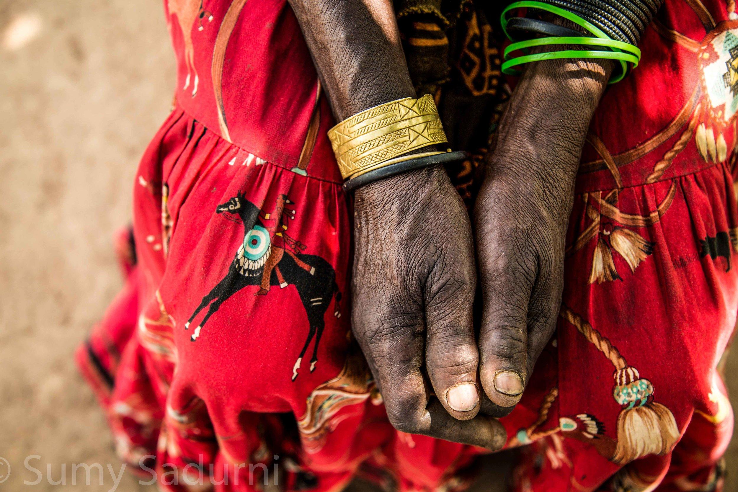 Print 8: Jewellery, Nakapritprit, northern Uganda.