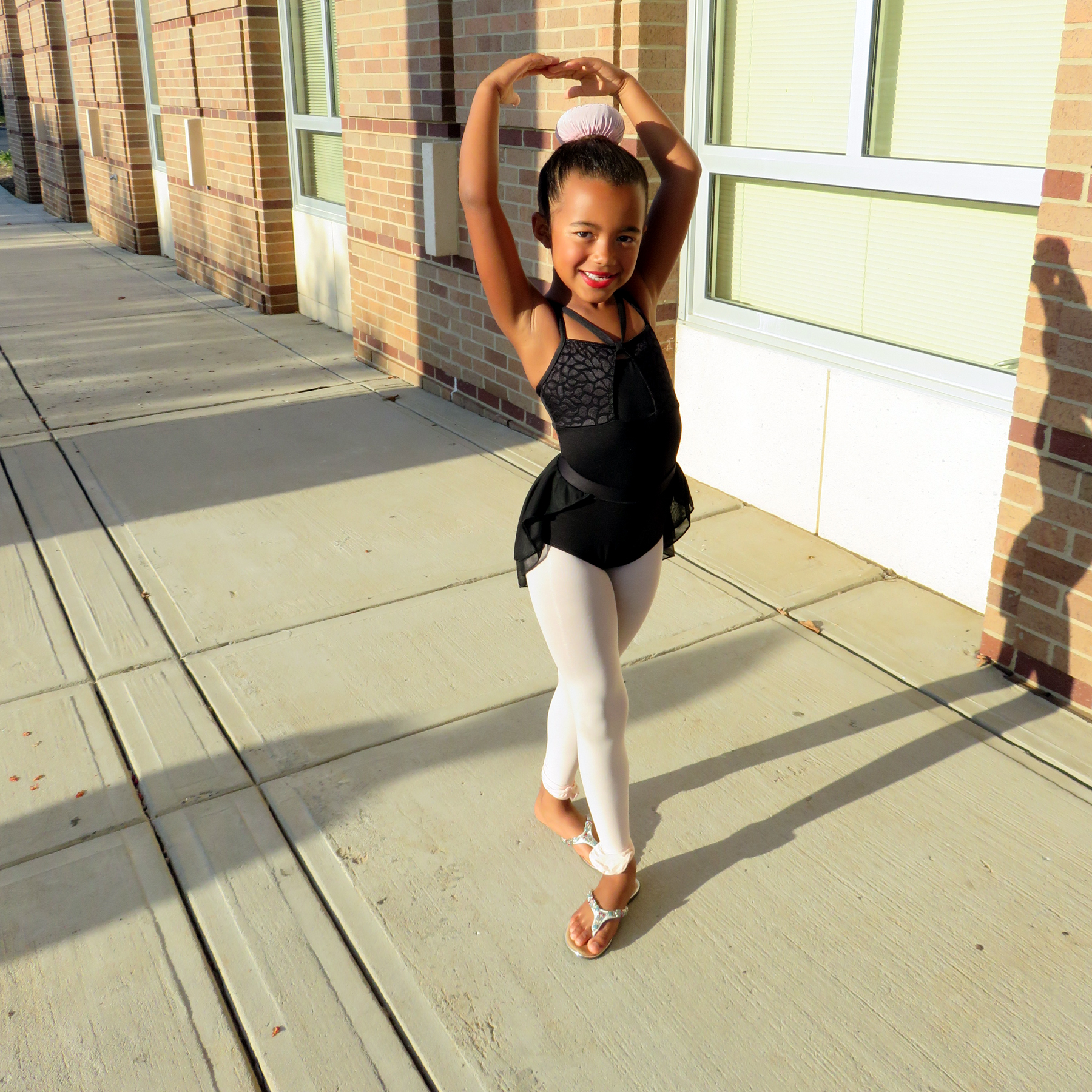 Carmela Tiedt prepares to audition for the Columbia City Ballet's  Nutcracker