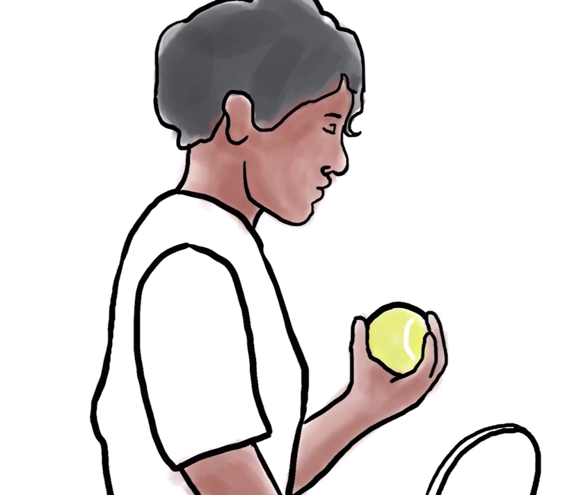 Still from Katly Hong's film on Althea Gibson