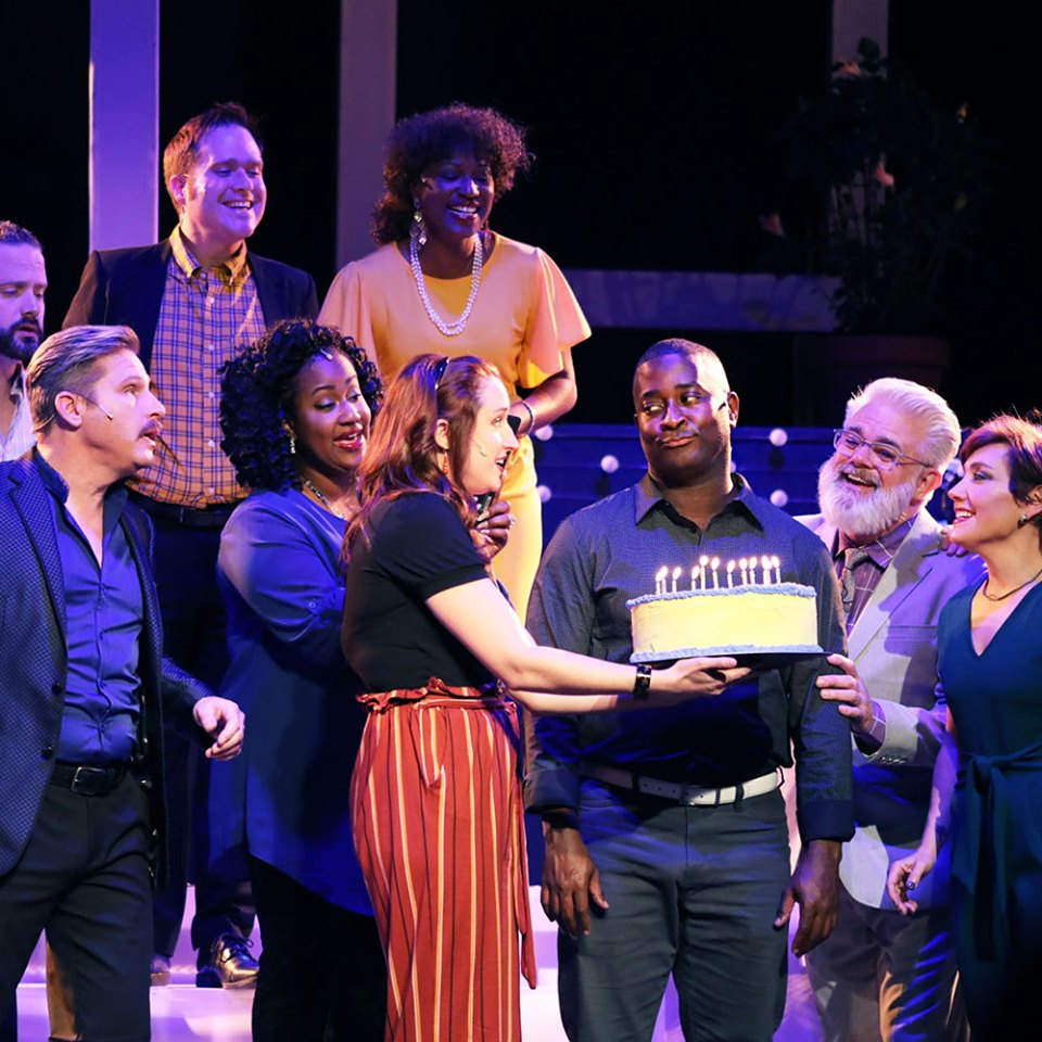 Walter Graham plays Bobby in the Trustus Theatre production of Stephen Sondheim's Company