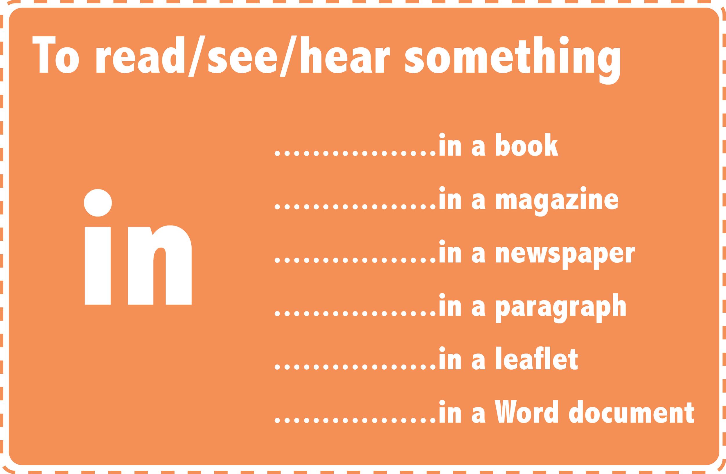 prepositions in (info)