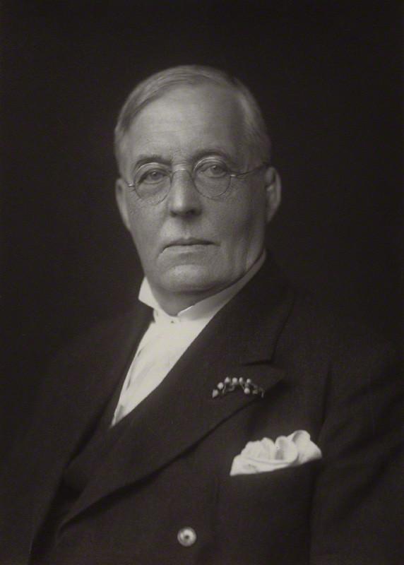 Montague Rhodes James, by Walter Stoneman, 1930