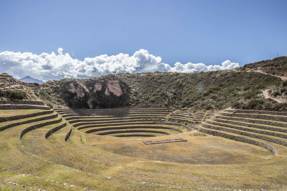 Inca site of Moray