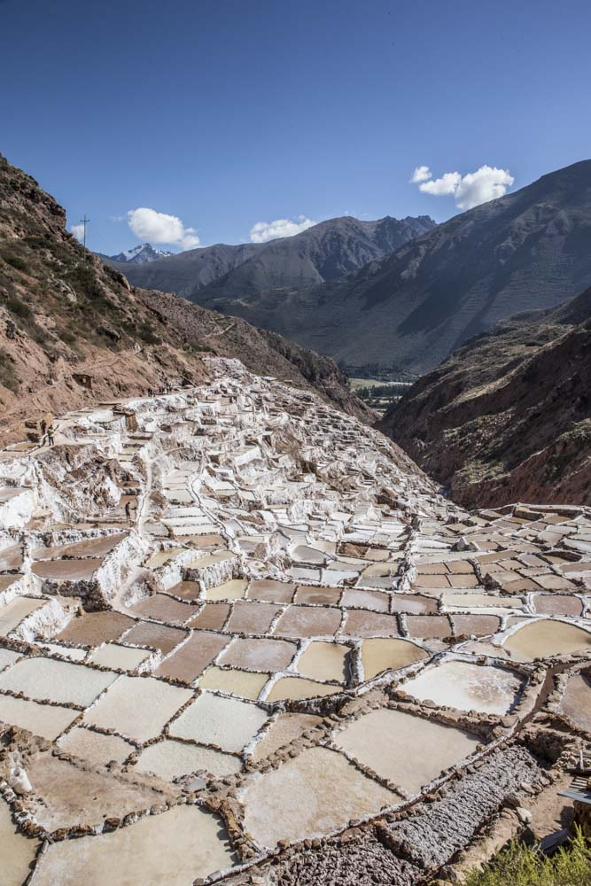 The salt mines at Maras have been used since Inca times