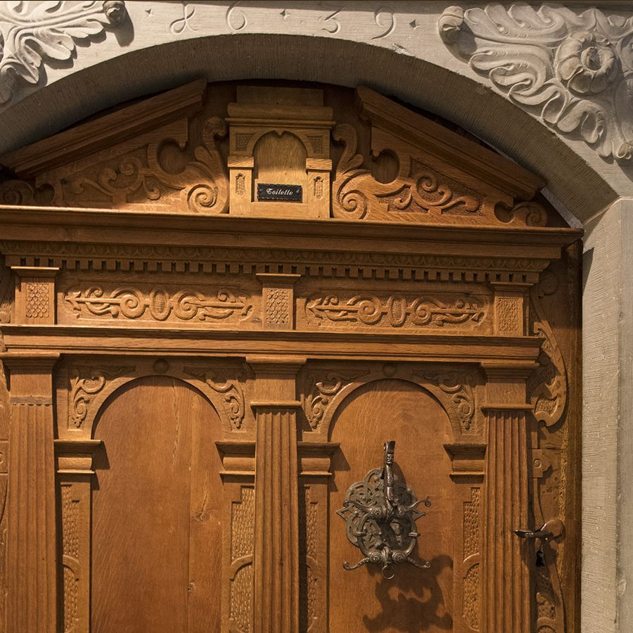 WC door... from 1639