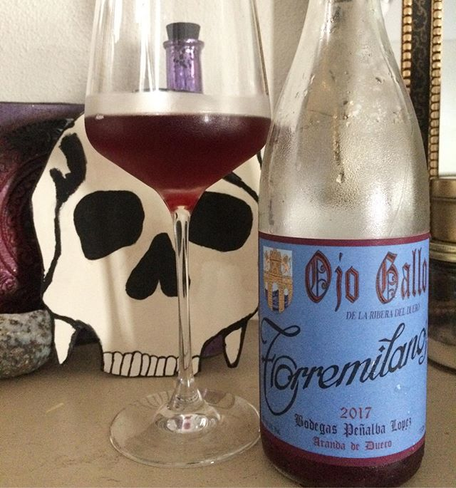 Feelin funky this #memorialdayweekend? Pick up a bottle of @torremilanos' unique rosé, perfect for spending time outside and swapping stories with friends and family. Besides the taste we love the gothic-esque label, which was recreated by hand!