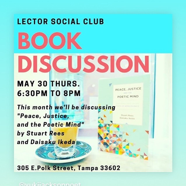 Don't forget about Lector Book Club next week, now hosted by @yukijacksonpoet! The conversation (and wine, duh) are going to be amazing!