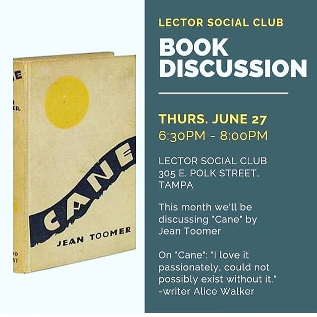 Pop in the shop this Thursday  June 27th and discuss Jean Tomer's 'Cane' with @yukijacksonpoet