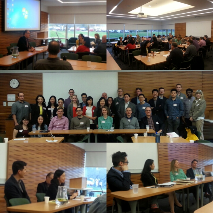 CLF lawyers and law students at the UBC CLSA Student Conference, January 31, 2016.