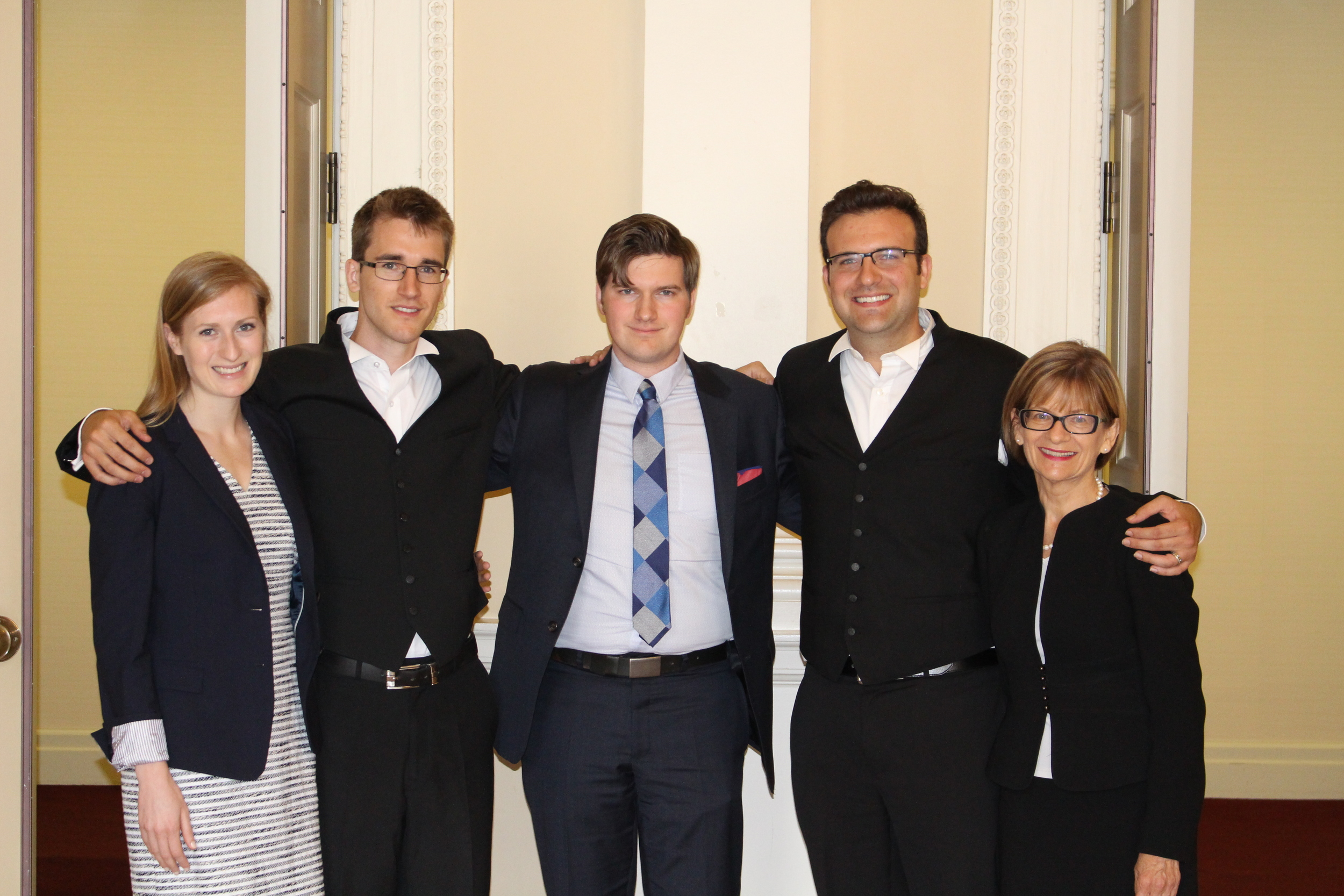 The Christian Legal Fellowship team at the Ontario Court of Appeal's hearing of TWU v. LSUC.