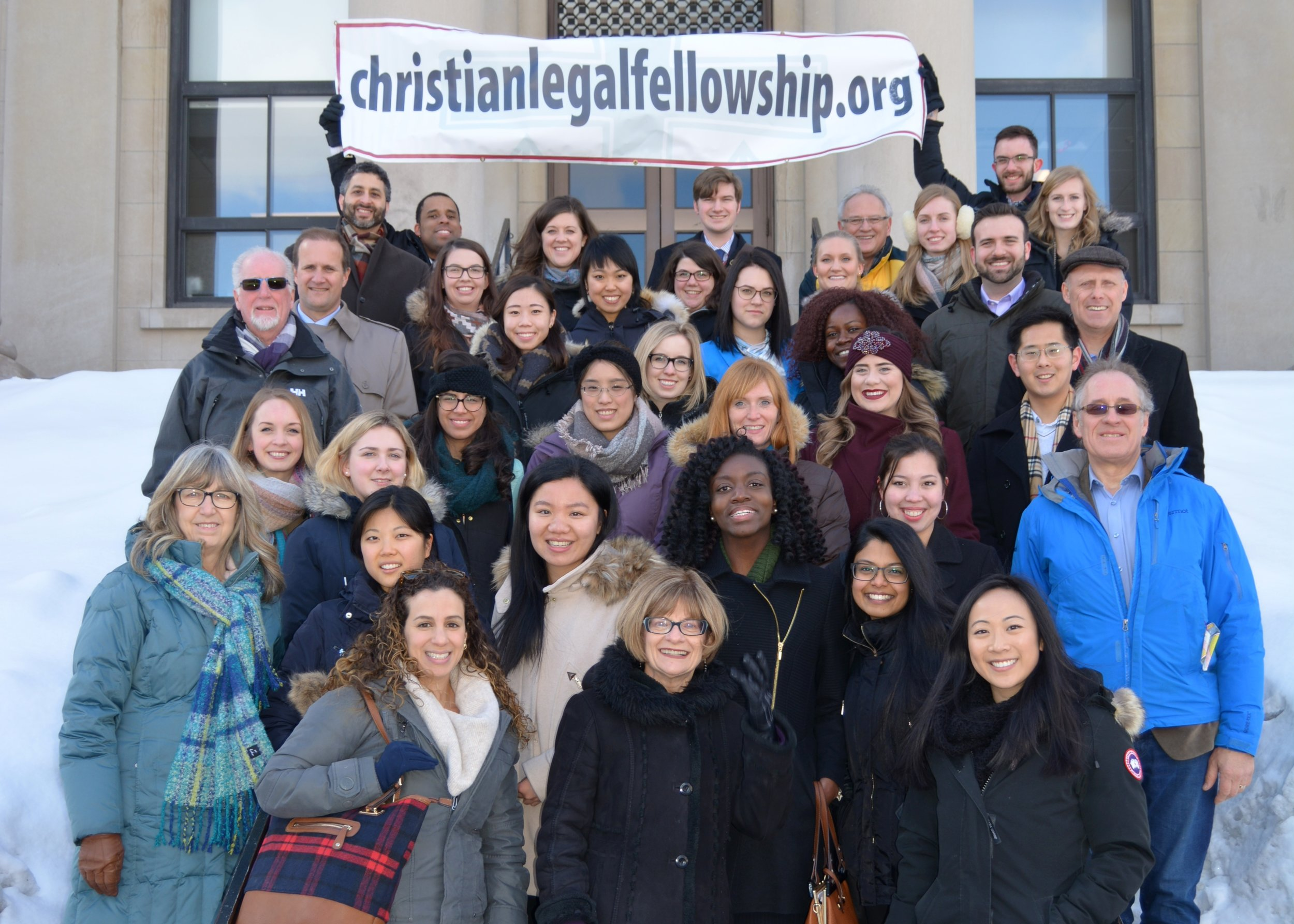 Equipping the   NEXT GENERATION    Law Student Ministries