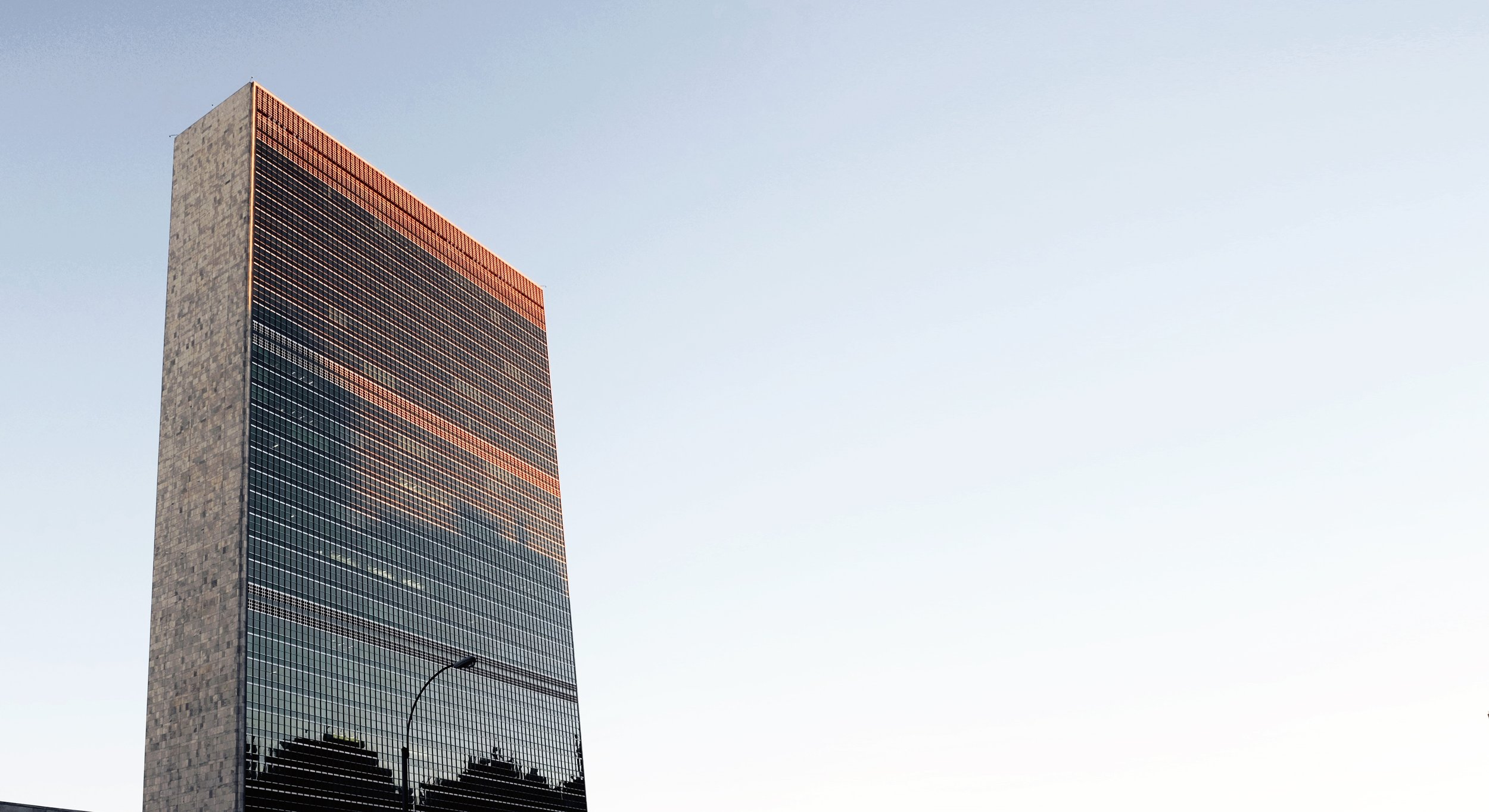 In 2007, CLF was granted special consultative status with the Economic and Social Council of the United Nations. - The United Nations' Headquarters (pictured left) are located in New York City.