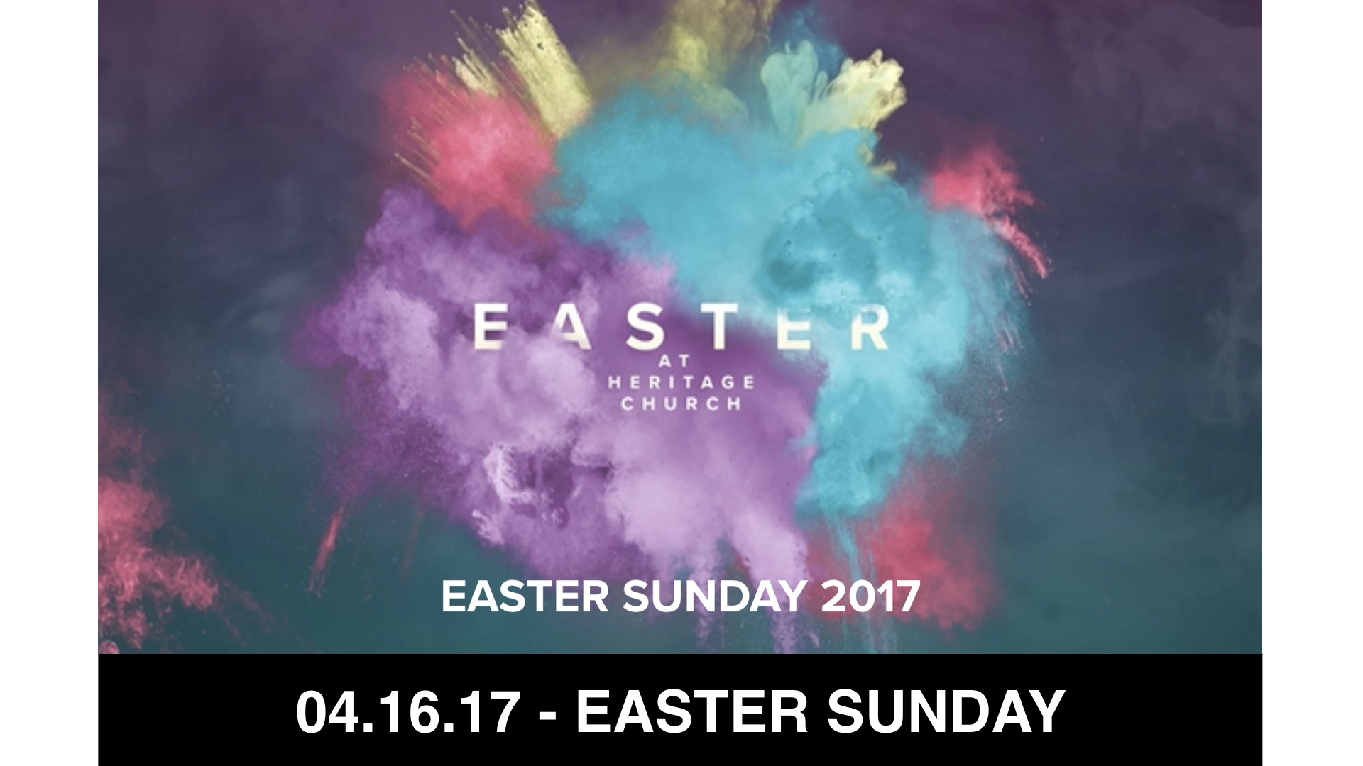 04-16-17 Easter Sunday 2017