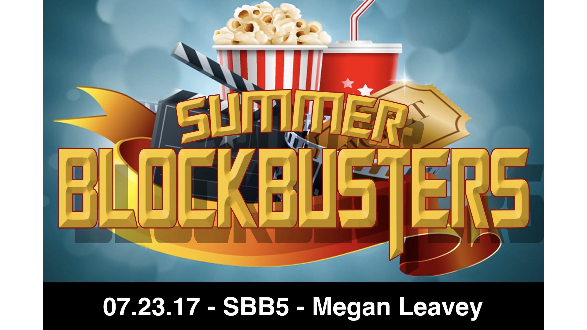 07-23-17 - SBB5 - Megan Leavey