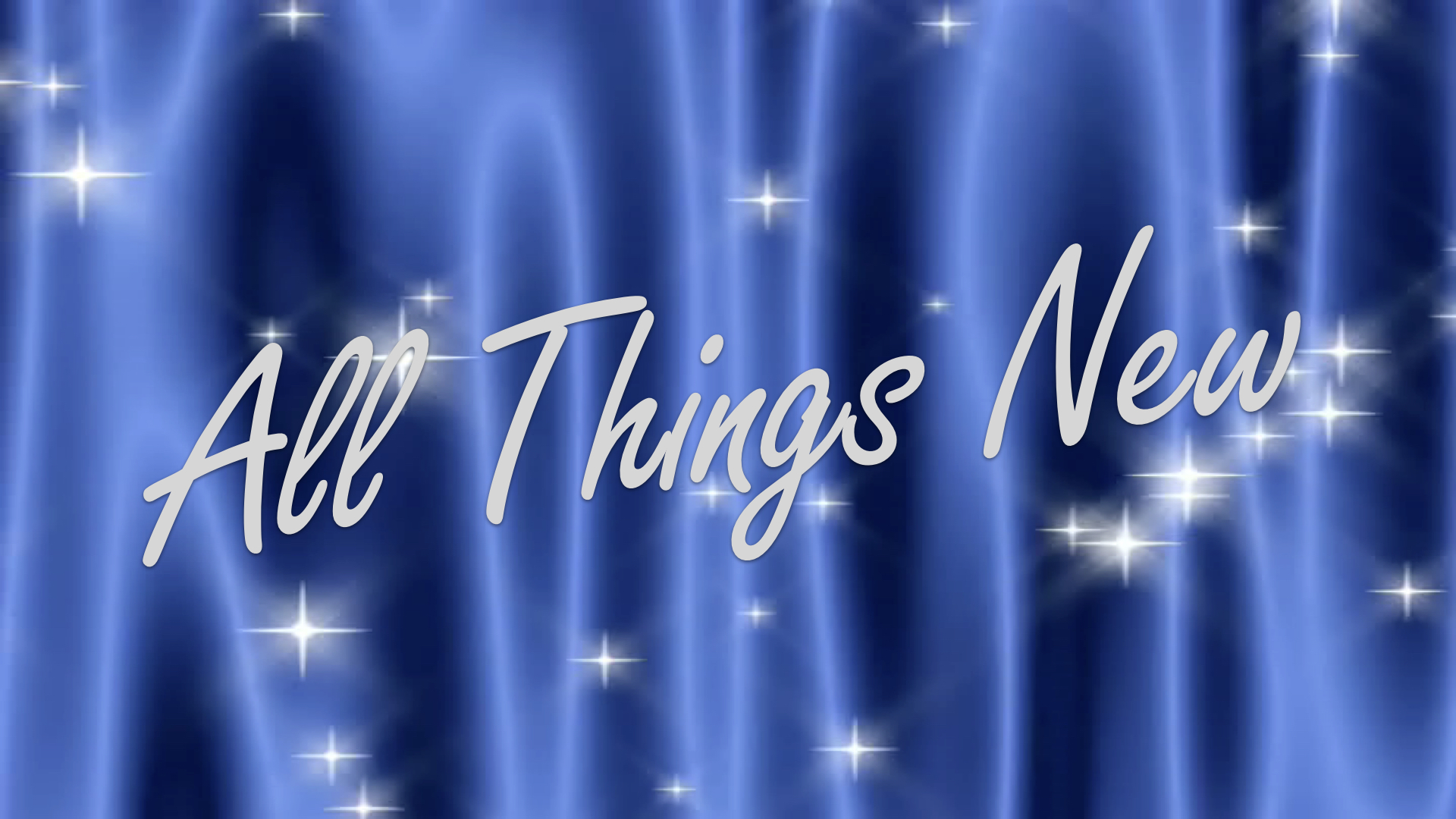 12-31-17 All Things New