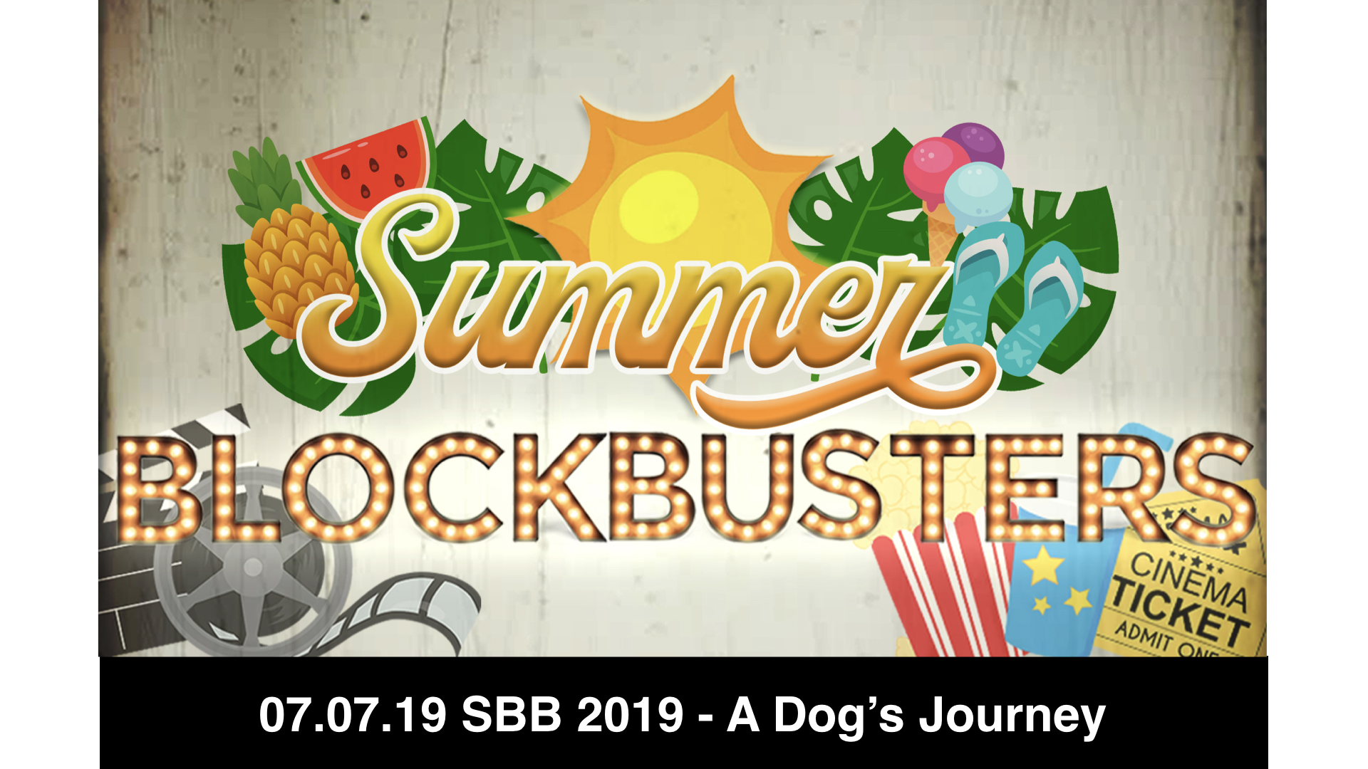 07.07.19 SBB 2019 - A Dog's Journey