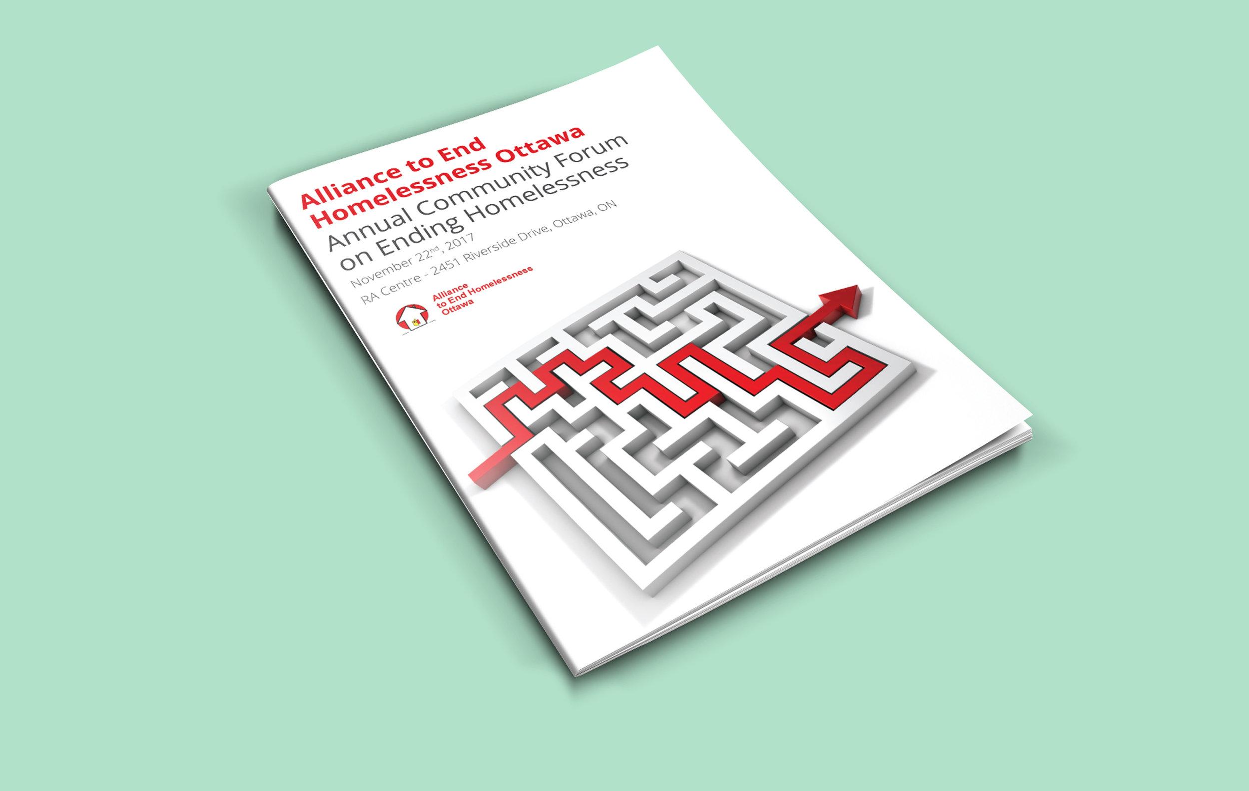 Alliance to End Homelessness Ottawa - Program Cover