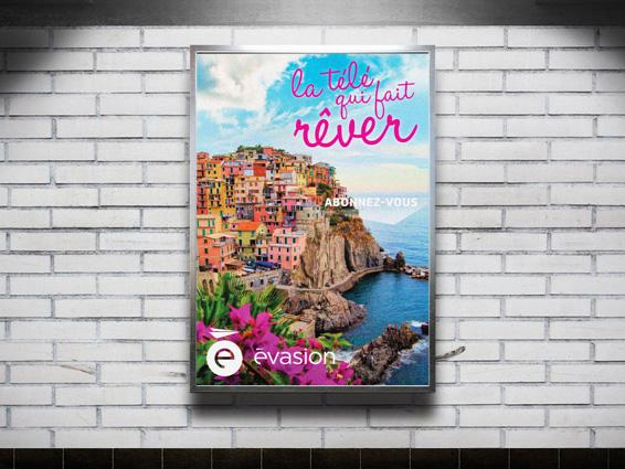 évasion TV - Marketing and Advertising