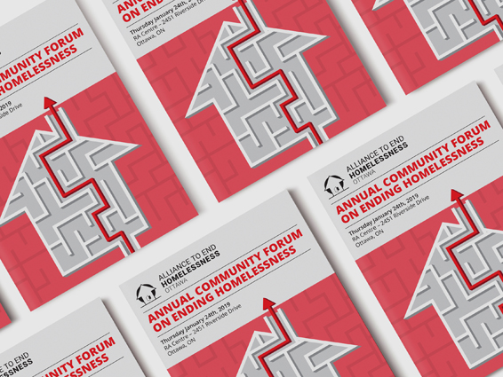 Alliance to End homelessness Ottawa - Program design for annual event to end homelessness