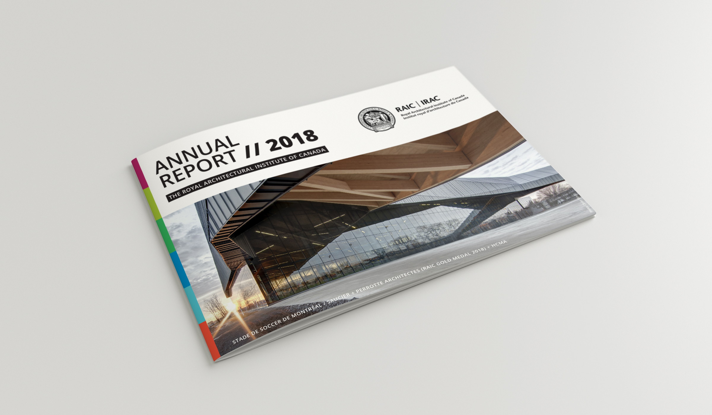 RAIC Annual Report 2018 Cover