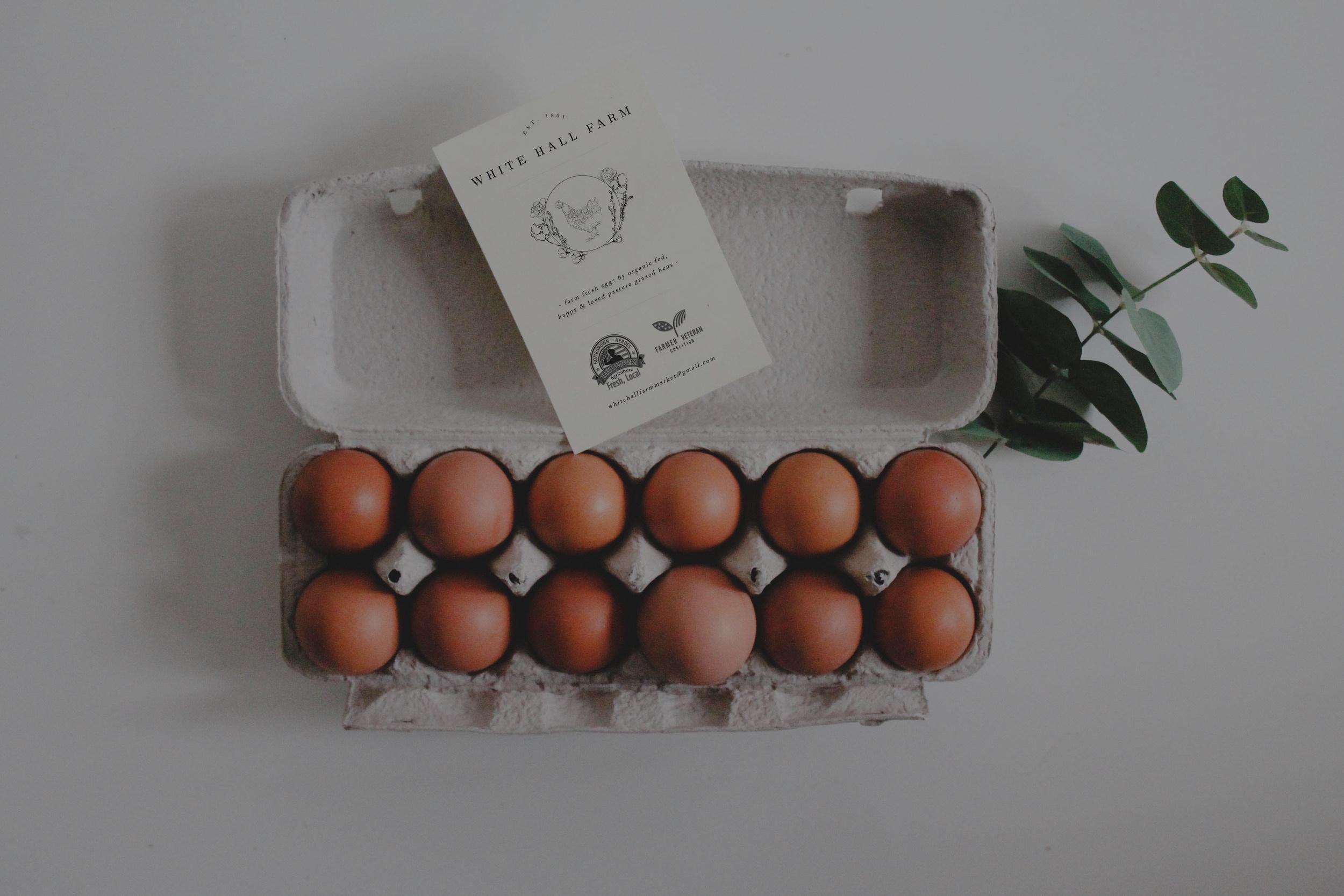 Farm Fresh Eggs -