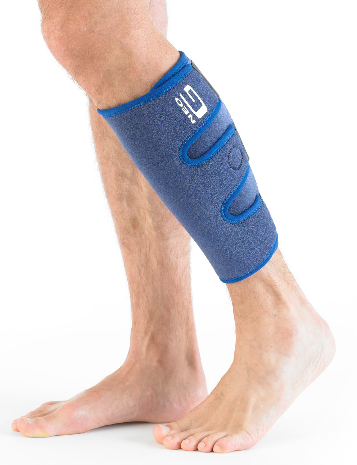 892 - CALF/SHIN SPLINT SUPPORT  The support is designed to help cushion and protect the anterior and posterior muscles of the calf to help with pain from strains, sprains and shin splints caused by occupational or sporting activities.