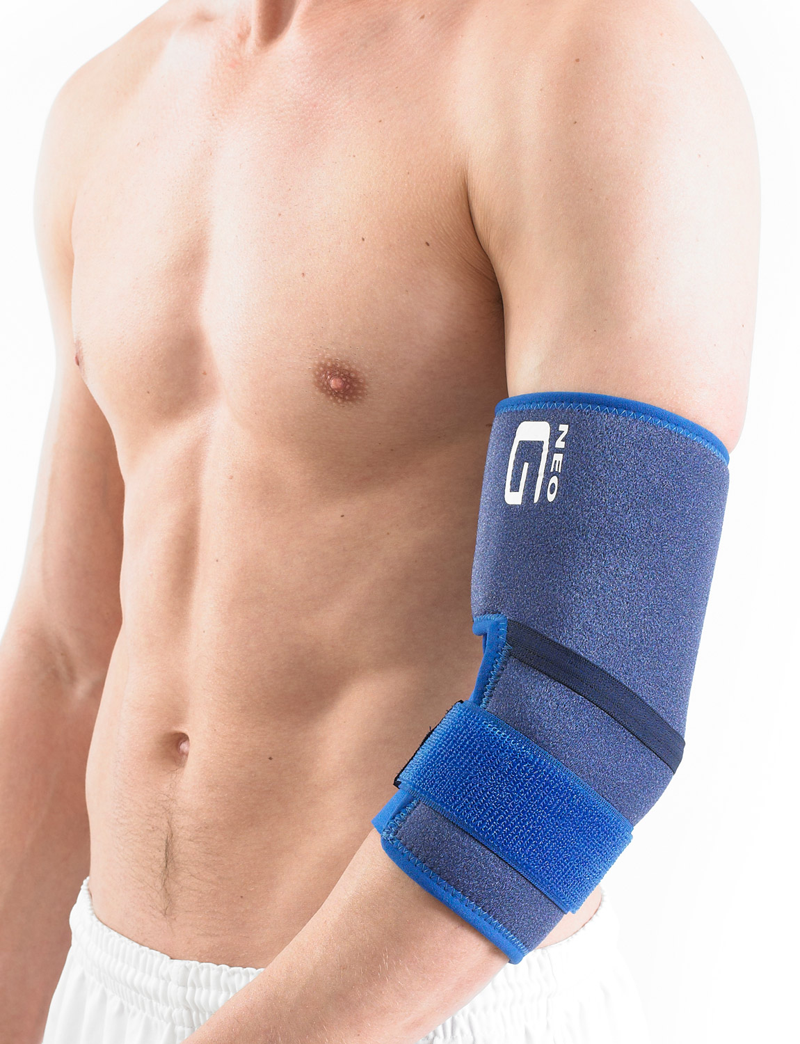 899 - ELBOW SUPPORT  It can be used to help with repetitive sports injuries such as tennis and golfer's elbow by reducing excessive movements at the inner and outer aspects of the joint.