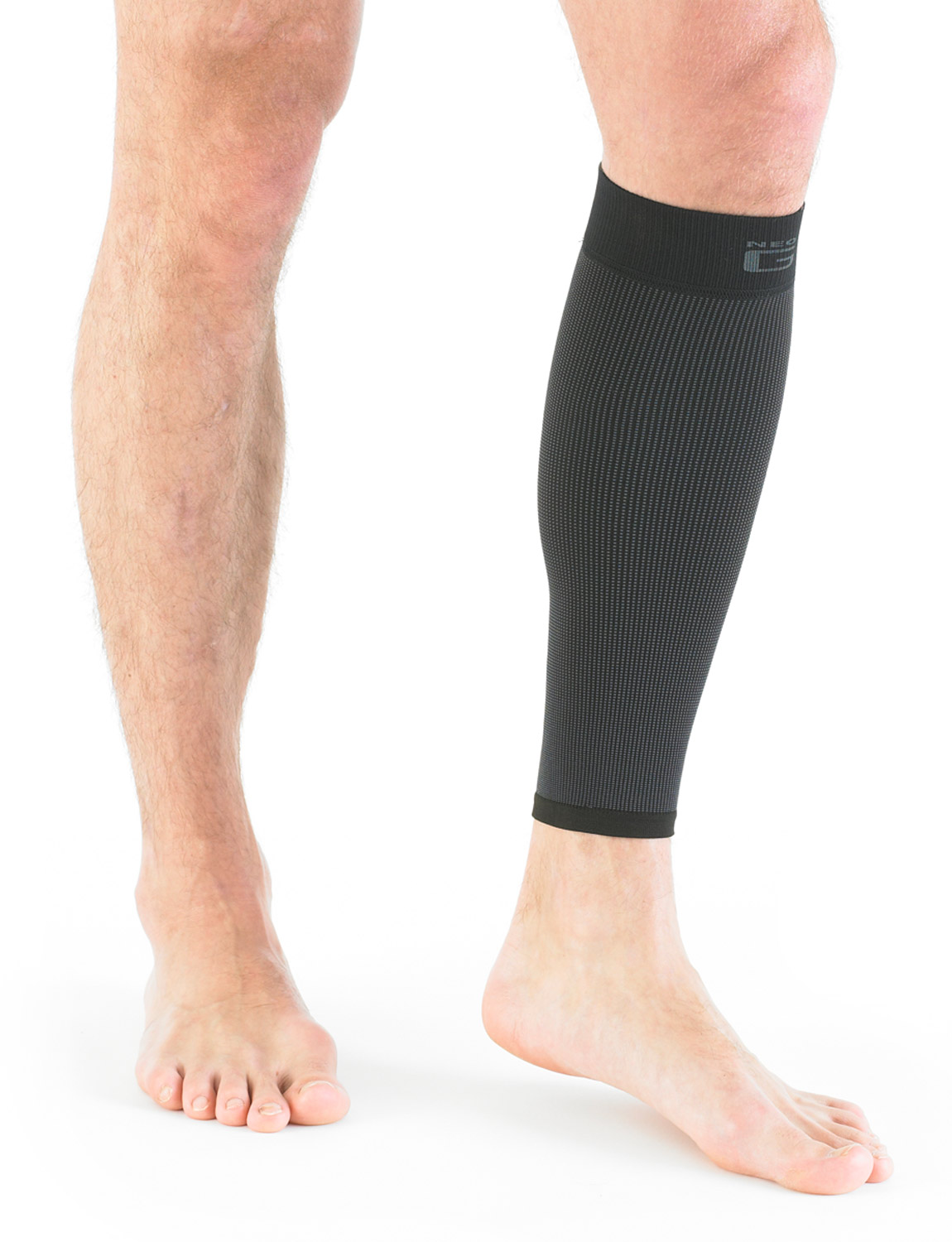 723 - CALF/SHIN SUPPORT  Compression provides a snug, yet flexible fit, helping warm muscles and support the calf/shin during sporting and occupational activities. The specialist breathable fabric helps control moisture during intense activities whilst providing support during movement. The slimline, snug and dynamic design means it can easily be worn under everyday clothes at work, home or on the field for comfort, support and reassurance when you need it most.