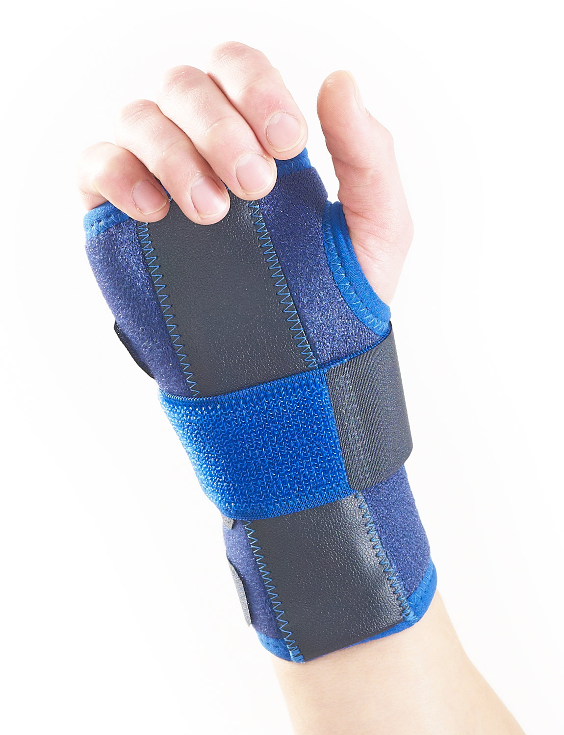 895 - STABILIZED WRIST BRACE  The durable, heat therapeutic neoprene helps with arthritic wrists, chronic aches and stiffness.