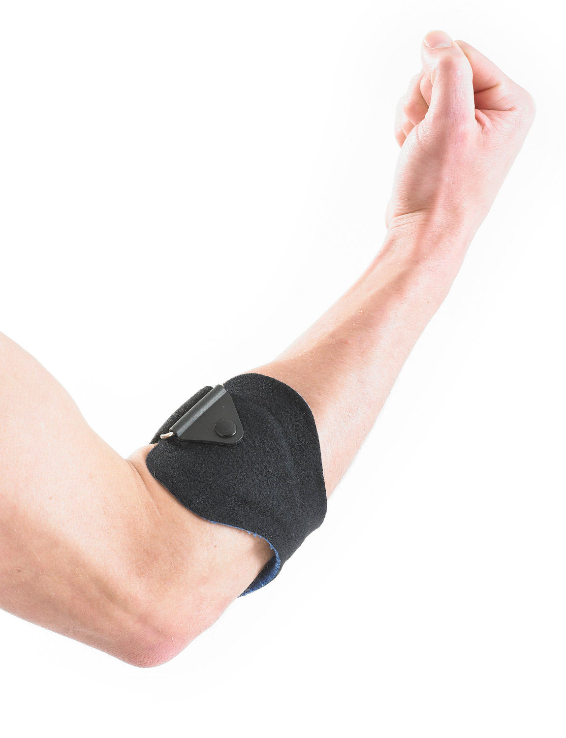 760 - TENNIS/GOLF ELBOW CLASP  Designed to provide dynamic compression and support to the forearm muscles and elbow tendon complex.