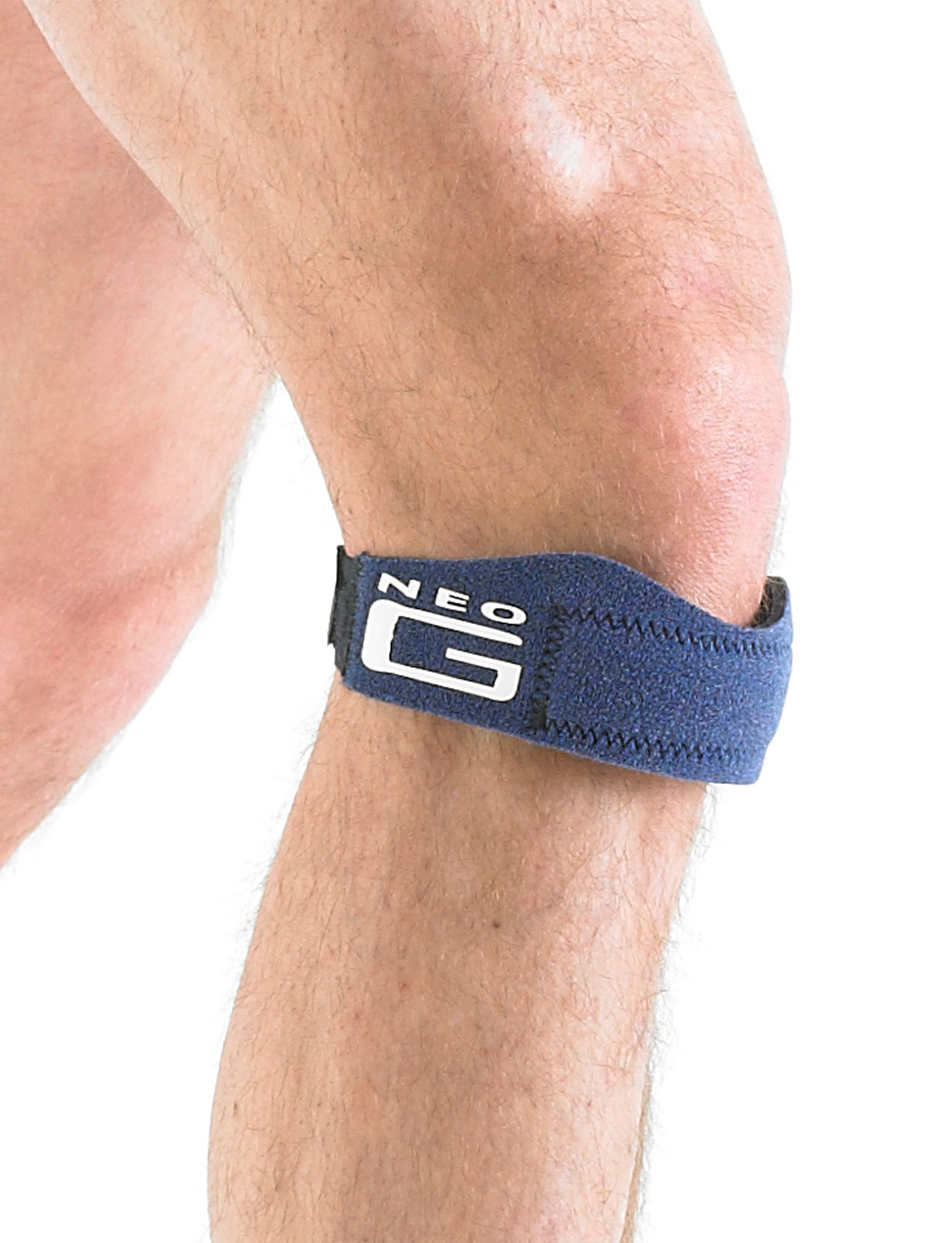 886 - PATELLA BAND  The support can be used to help with pain associated with any patella tendon irritation and inflammation caused by occupational or sports activities.