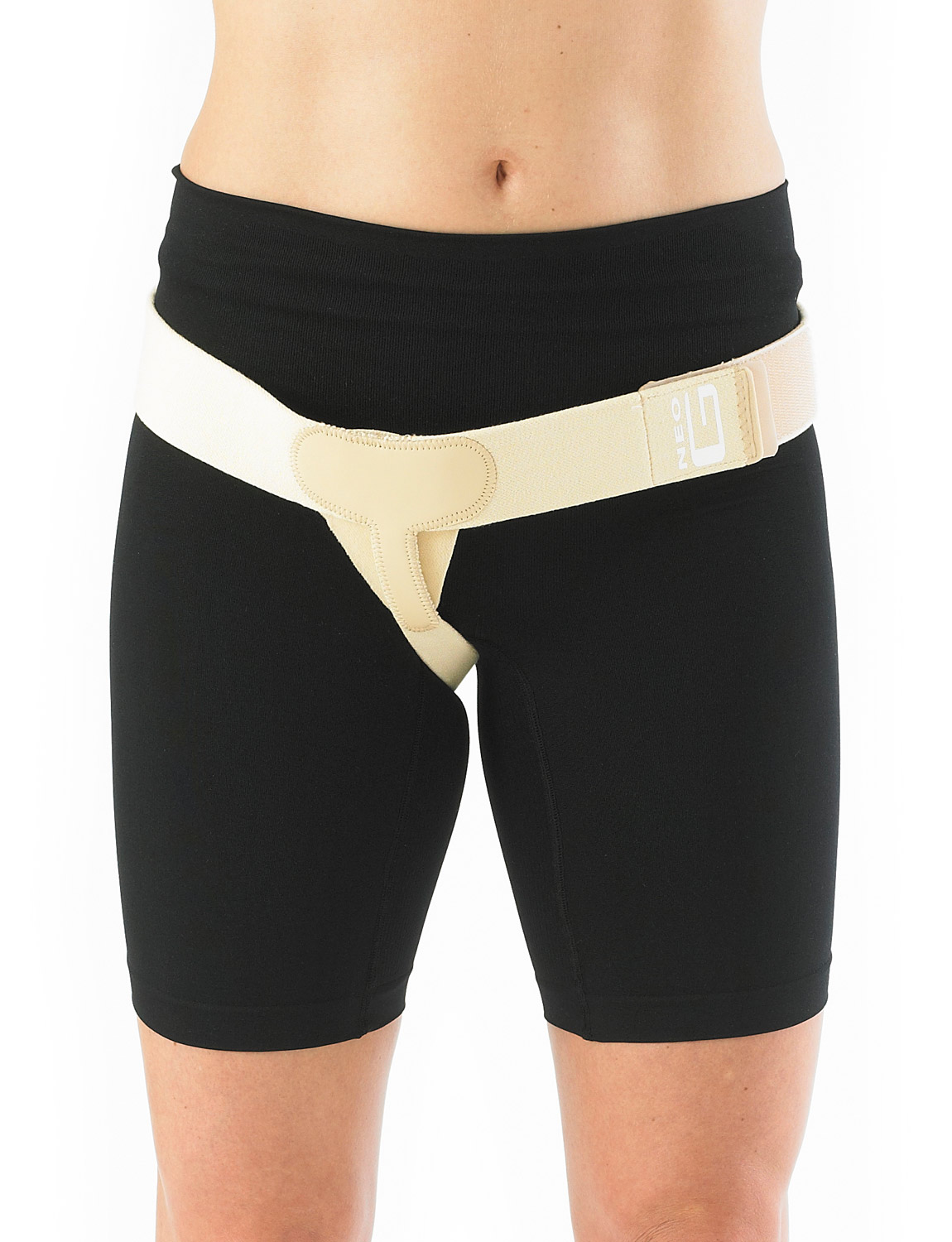 601 -LOWER HERNIA SUPPORT  Lower Hernia Support helps provide gentle and gradual pressure to reduce right or left sided inguinal hernias. It helps reduce symptoms of recurrent bulge on exertion and strain involved in lifting and forward bending for example.