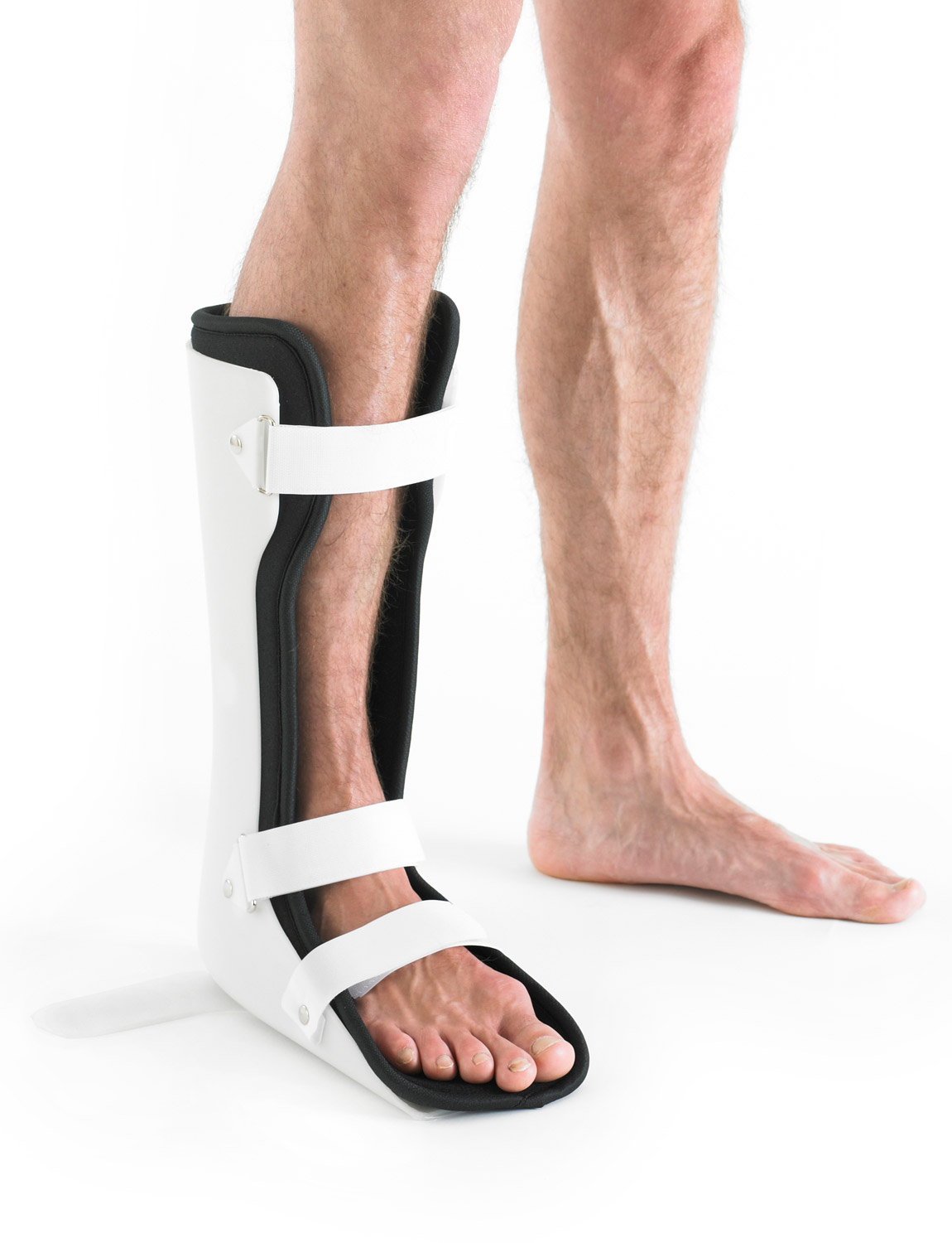 864 - ANTI-ROTATION AFO FOOTGUARD  The Neo G Anti Rotation AFO Footguard is designed to help position the foot in the correct anatomical alignment. It helps to correct excessive external and internal rotation and over pronation and supination at the ankle joint.