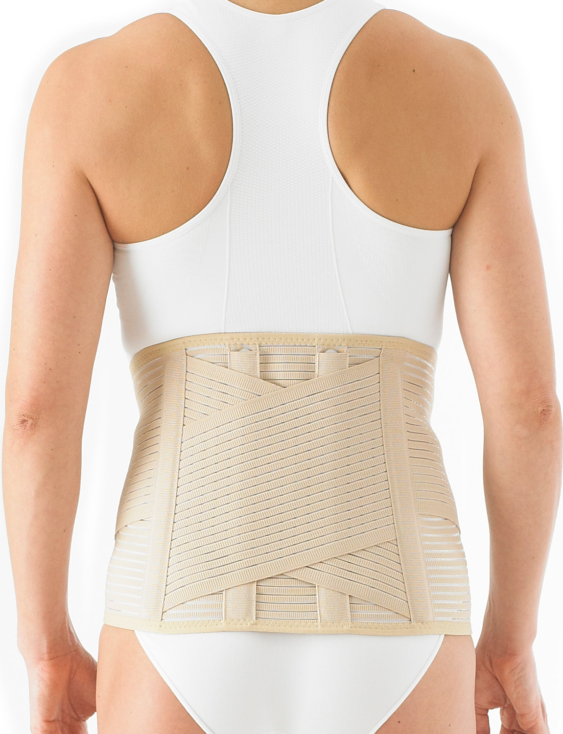 135 - LUMBOSTAD SUPPORT/BRACE  It has been designed to help reduce excessive and unwanted movements and so encourage healing of injured tendons, ligaments, muscles and lumbar discs by helping to manage over stretching.