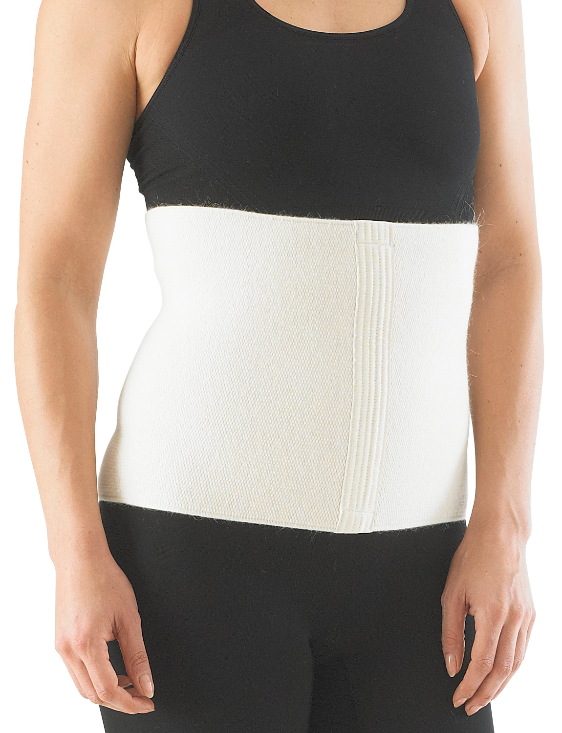 114 -ANGORA & WOOL WAIST WARMER & SUPPORT  Angora & Wool Waist Warmer & Support is designed with naturally insulating material which helps to retain heat in the lumbar region to keep muscles and joints warm.