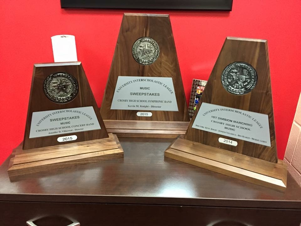 UIL Sweepstakes Awards