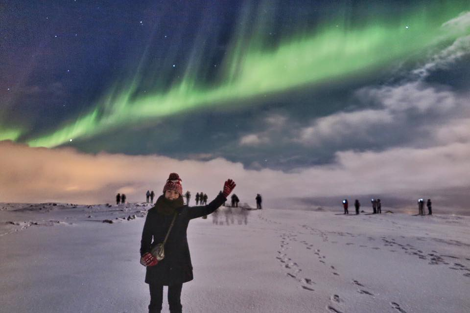 Hunting Northern Light in Iceland