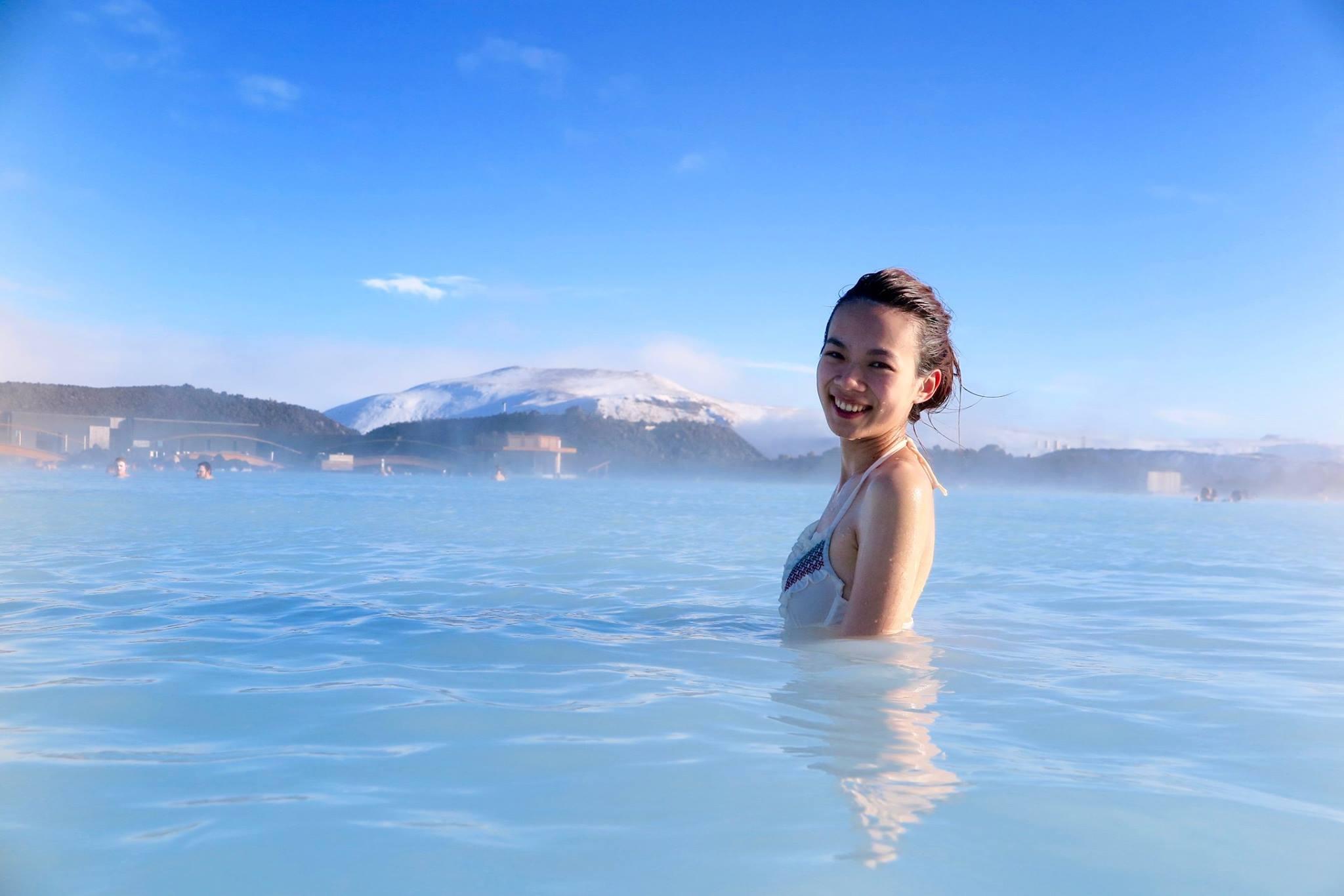 Blue Lagoon Bathing in Iceland