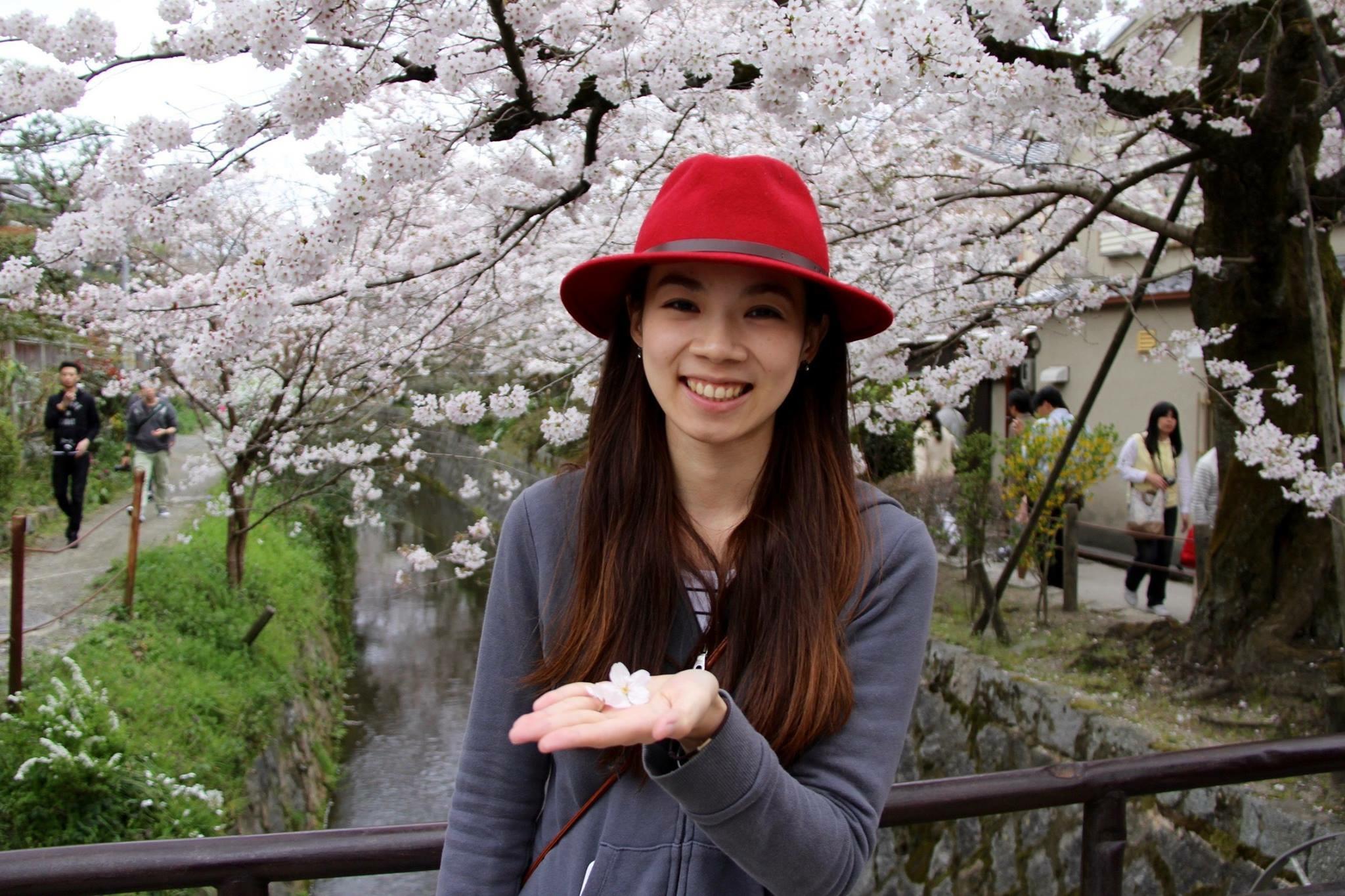 Cherishing Sakura in Osaka