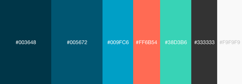 New brand palette