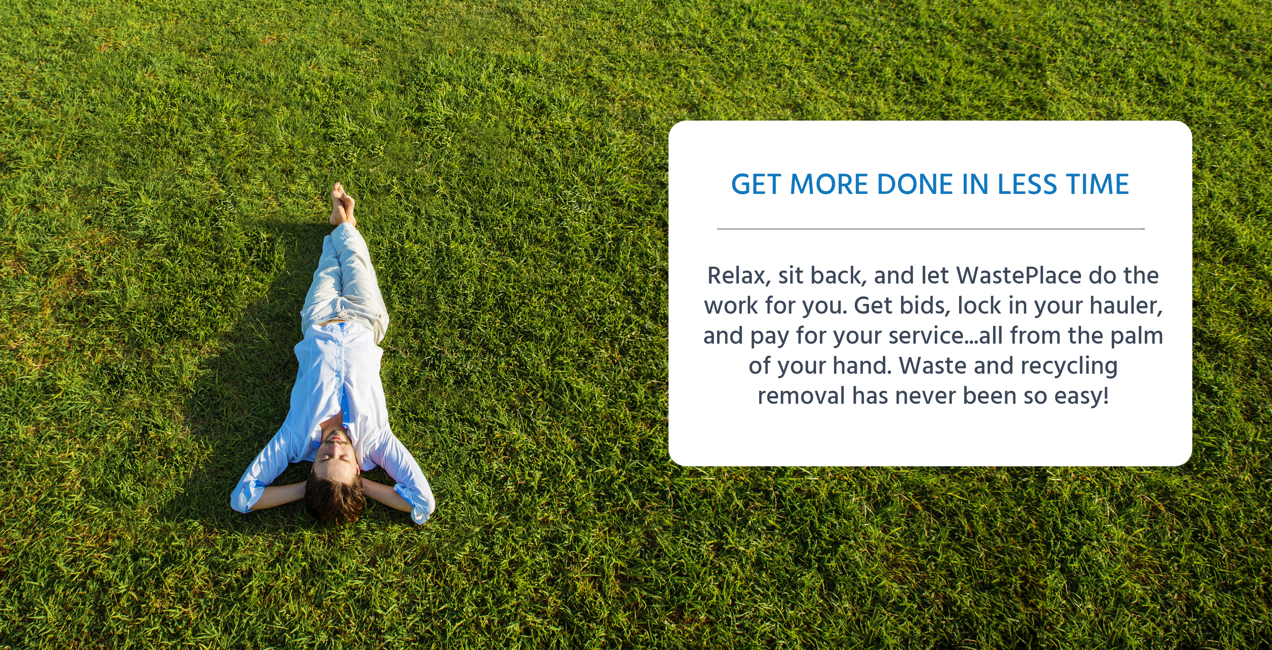 save time using wasteplace for junk removal, dumpster rentals and waste and recycling removal