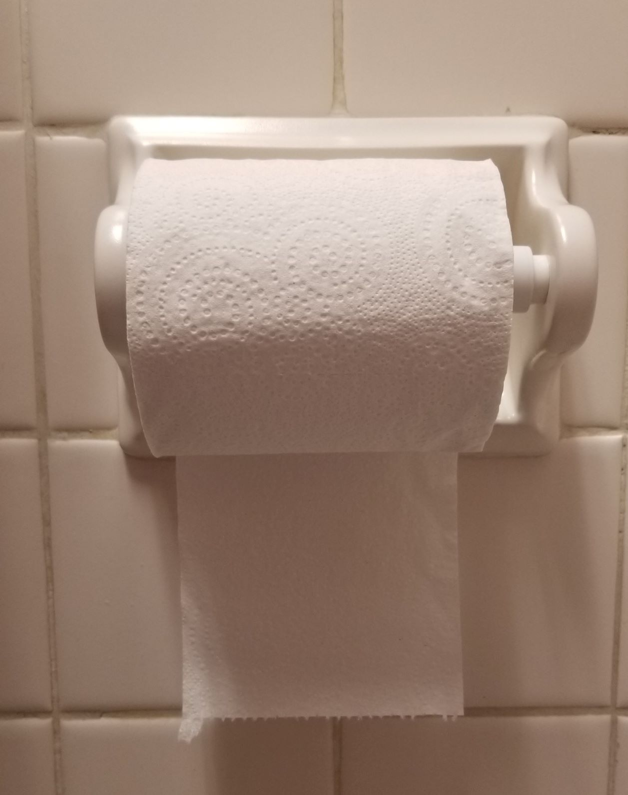The Under Roll. Madness.  (Don't tell anyone, but several of us decided to take extra bathroom breaks to help get rid of this roll quickly.)